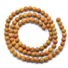 "Natural Jasper Gemstone 4mm 6mm 8mm Round Loose Beads Strand 15"" Jewelry Making"