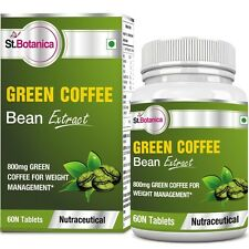 St.Botanica Green Coffee Bean 800 mg Extract (With Chlorogenic Acid) - Tablets