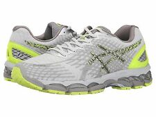 NEW Mens ASICS Gel-Nimbus 17 Lite Show Running Shoes Flash Yellow/Silver $150