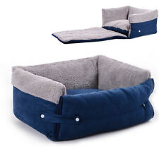 Soft Warm Pet Bed House Suede Cozy Nest Mat Plush Cushion Dog Puppy Cat Kennel