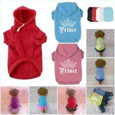 Small Pet Dog Sweater Puppy Cat Coat Clothes Dress Vest T Shirts Apparel Clothes