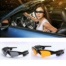 Hot Wireless Stereo Bluetooth Sunglasses Night Glasses Headset Earphone