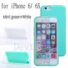 Ultra-Slim Soft Silicone Gel Full Body Case Cover Skin Protector for iPhone 6/6S