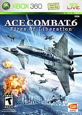 Ace Combat 6: Fires of Liberation. Xbox 360. Complete. Free Shipping. Rare