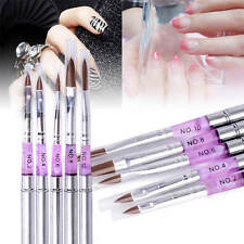 Nail Art Tips UV Gel Acrylic Painting Drawing Pen Polish Brush Pen Tool New
