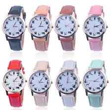 Women Casual Watch Cat Dial LeatherAnalog Quartz Wrist Watches  Stainless Steel