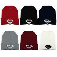 Unisex Women Mens Warm Winter Knit Hat Fashion Cap Hip-hop Ski Beanie Hat