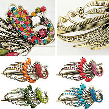Women's Retro Style Peacock Hairpin Rhinestone Alloy Hair Clip Gift Affordable