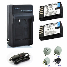 Quick Charger / Battery for Panasonic DMW-BLF19 DMW-BTC10 Lumix DMC-GH3 DMC-GH4