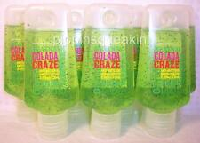 Bath and Body Works Heatwave Colada Breeze anti-bacterial Hand Gels x7