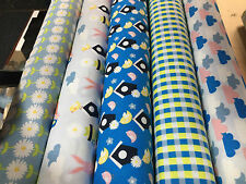 100% COTTON FABRIC Fabric Freedom for QUILTING half/1m Vegetable Patch Crafting