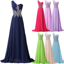 Long Formal Wedding Bridesmaid Maxi Evening Party Ball Prom Gown Cocktail Dress