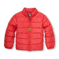 NWT-Boys The Childrens Place Red Puffer Winter Snow Jacket-size 7/8, 10/12 & 14