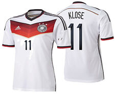 ADIDAS MIROSLAV KLOSE GERMANY AUTHENTIC ADIZERO HOME JERSEY FIFA WORLD CUP 2014