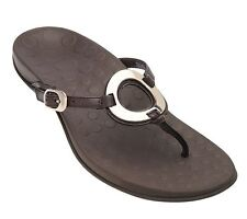Orthaheel Yolanda Chocolate Orthotic Thong Sandal