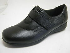 Clarks Gael Bombay Ladies Black Leather Casual Shoes