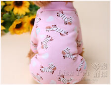 Winter Dog Jumpsuit Pet Clothes Coat pajamas for chihuahua teacup yorkie maltese