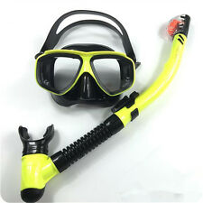 RX Prescription Optical Scuba Dive Snorkeling Mask Corrective Lens Goggle Set