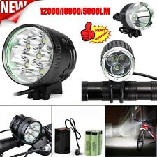 12000 Lm 6x XML 6T6 LED 3 Modes Bicycle Cycling Waterproof Lamp Headlight Lot