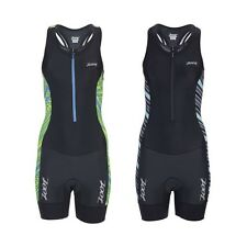 Zoot Women's Performance Tri Racesuit -Pockets -Reflective Details -Triathlon