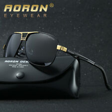 Mens Polarized Aviator Sunglasses Outdoor Driving Sports Cool Glasses Eyewear