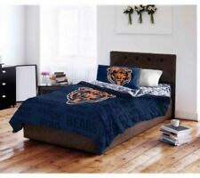 Chicago Bears NFL Bedding Set twin full queen comforter sheets bed in a bag