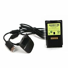 New Ni MH 4800mAH Rechargeable battery pack For XBOX 360 & chargeable cable FY