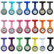 NEW Cute Silicone Nurse Watch Brooch Fob pocket Tunic Quartz Movement Watch FY