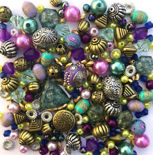 Purple Jewellery Making Beads
