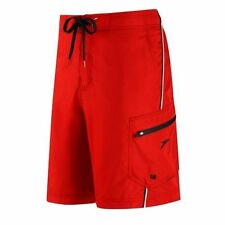 Speedo Men`s Harbor E-Board Shorts Swimsuit Fiesta Red Color Size XXL NEW