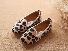 J Ghee New Fashion Girls Shoes With Leopard Style Autumn Spring Kids Shoes