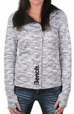 Bench Active Wear Womens GetMovin Sweat Fitness Yoga Zip Up Jacket BLEF0099 NWT