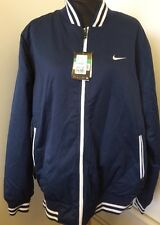 Mens Nike Ad Varsity Quilted Reversible Jacket UK XL L   RRP £95   A47