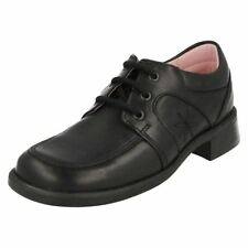 Girls Startrite Lace Up School Shoes Charm