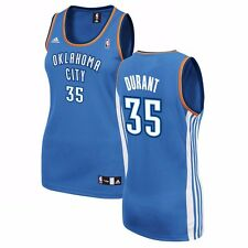 Kevin Durant ADIDAS Oklahoma City Thunder Official Blue Replica Jersey Women's