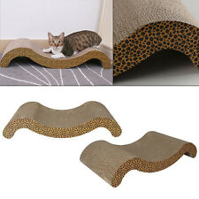 Pet Cat Scratching Mat Corrugated Board Scratcher Pad Post Pole Bed Claws Toy