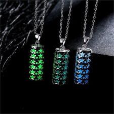 Hot Celestial Star Style Glow in Dark Pendant Necklace Women's Jewelry Gift NEW!