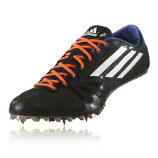 Adidas Adizero Prime Mens Black Running Track Field Spikes Shoes Trainers