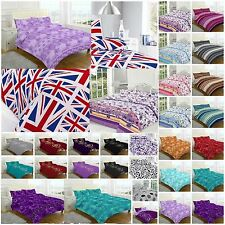Modern Design NEW Duvet Cover Quilt Cover With Pillow Case Bedding Set  ALL SIZE