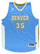 Adidas Mens Denver Nuggets NBA Kenneth Faried Swingman Jersey Blue