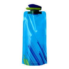 Portable Folding Sports Water Bottle  Foldable Outdoor Sports Portable Water Bag