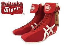 Asics Onitsuka Tiger TKO Boxing Shoes (boots) HN404 Red/White