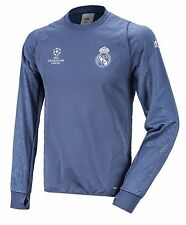 NWT Adidas Men RMFC Real Madrid Fleece Top Jersey L/S Tee Soccer Shirts AO3083