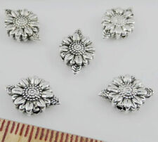 Free 10/50/300Pcs Tibetan Silver Flower Spacer Beads Jewellery Findings 13x9mm