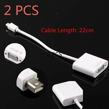 2PCS Displayport Display Port To VGA adapter Cable for Apple Macbook M-VGA YL