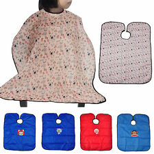Waterproof Kid Children Salon Hair Cutting Hairdressing Barber Cape Gown Cloth