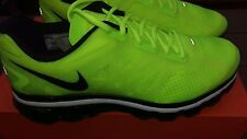 NIKE AIR MAX+ 2012 VOLT / BLACK / WHITE MENS RUNNING SHOES 487982-701