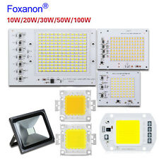 Smart IC 20W 30W 50W 100W LED Floodlight 2835 SMD Lamp Light Bulb COB Chip Bead
