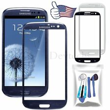 Front Outer Screen Lens Glass Replacement for Samsung Galaxy S3 I9300 + Tools