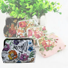 Women Lady Wallet Retro Vintage Flower Hasp Purse Clutch Bag Card Holder Handbag